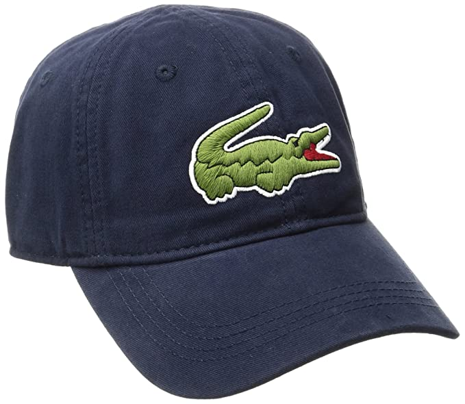 549b91364f9 Lacoste Men s Gabardine Cap with Large Crocodile  Amazon.in  Clothing    Accessories