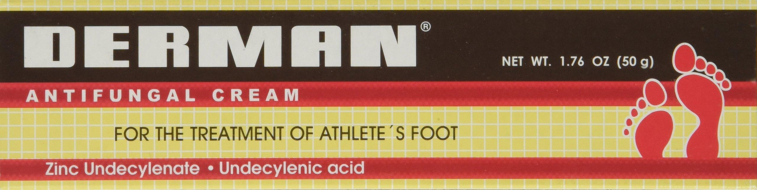 6pk - Derman - Antifungal Cream - 1.76oz