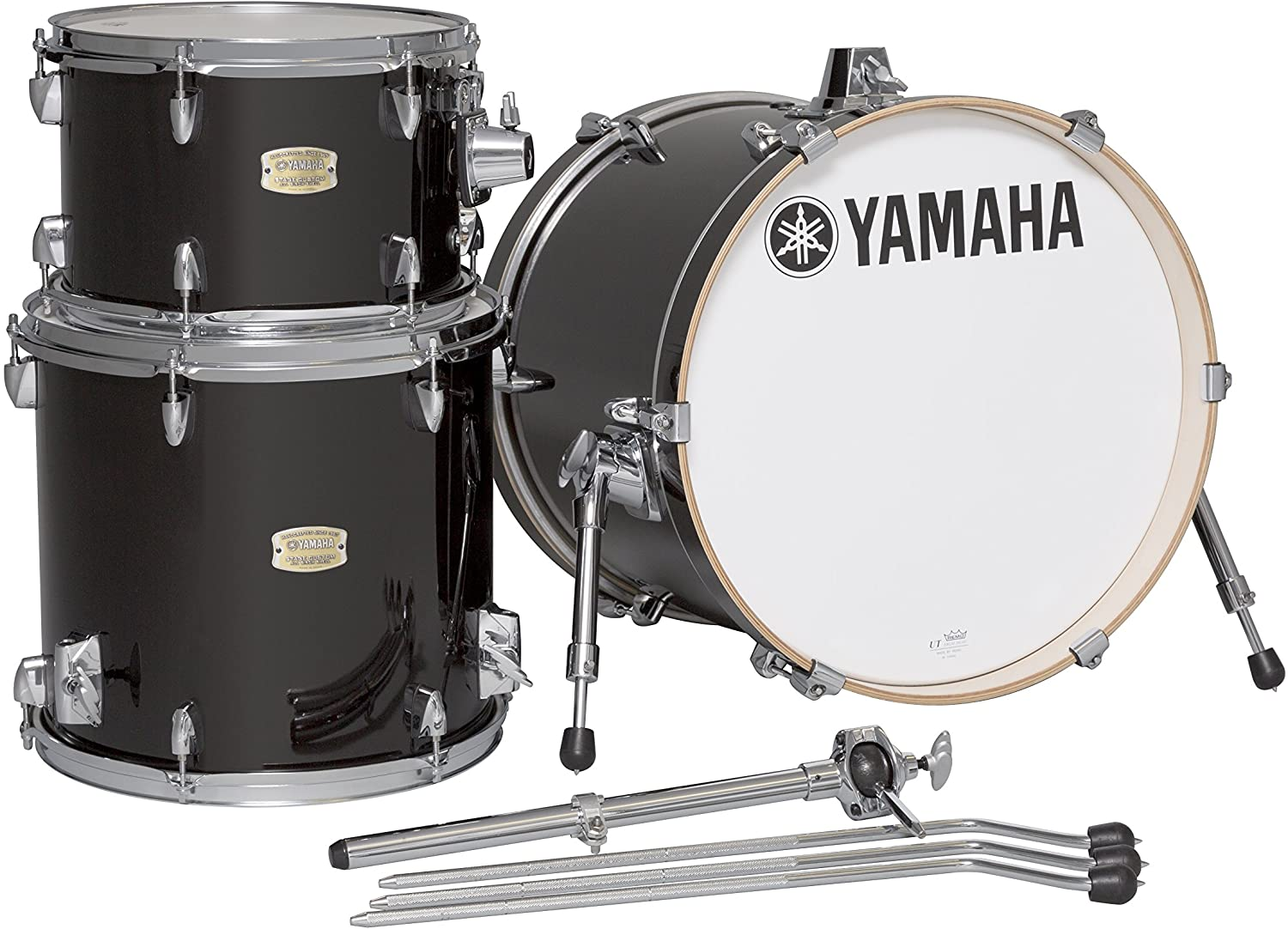 Amazon.com: Yamaha Stage Custom Birch 3pc Bop Drum Shell Pack - 18 ...