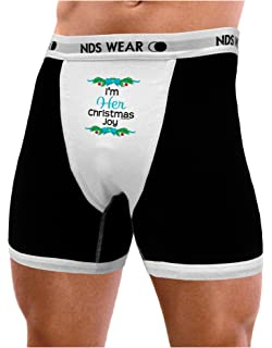 b439bae7108b NDS Wear TooLoud Her Christmas Joy for Couples Mens Boxer Brief Underwear