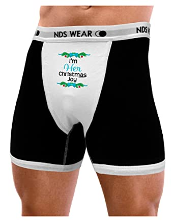 Amazon.com  NDS Wear TooLoud Her Christmas Joy for Couples Mens Boxer Brief  Underwear  Clothing a5adaddfb