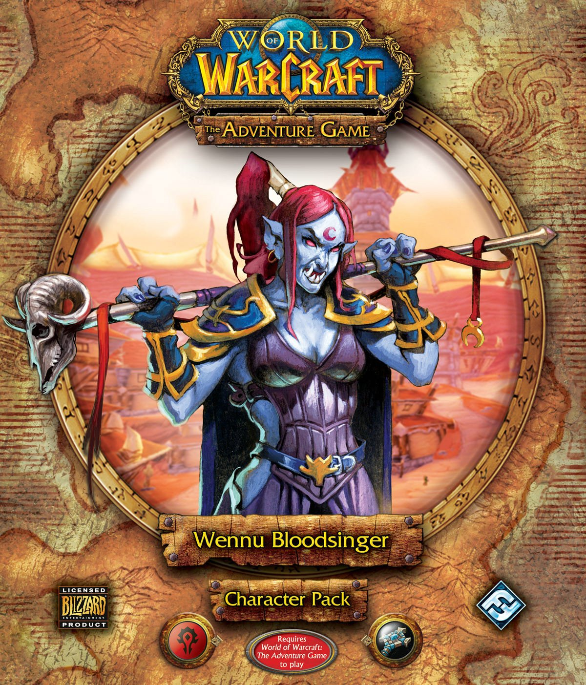 World of Warcraft: The Adventure Game: Wennu Bloodsinger Character Pack With Cards and Tokens, Character Miniature: Amazon.es: Fantasy Flight Games: Libros en idiomas extranjeros