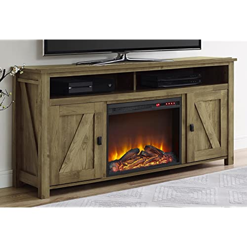 Entertainment Centers With Fireplace Amazon Com