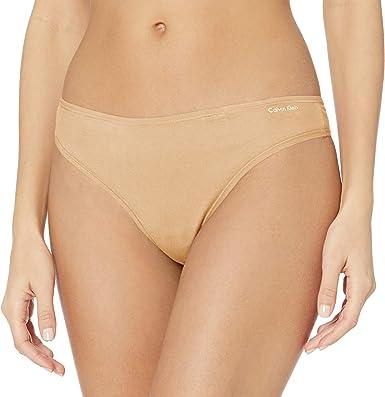 Calvin Klein Form Thong Extended Sizes Bragas de Tira, Color Carne ...