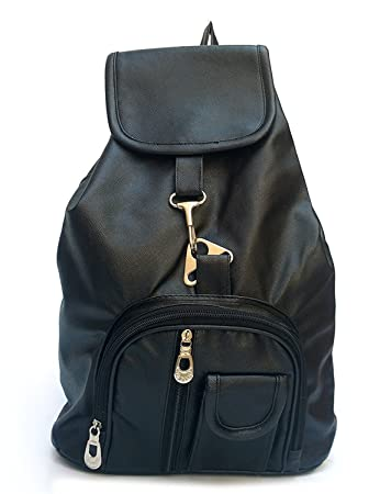 b5e38d643805 Universal Store- Latest Black Leather Backpack Girls