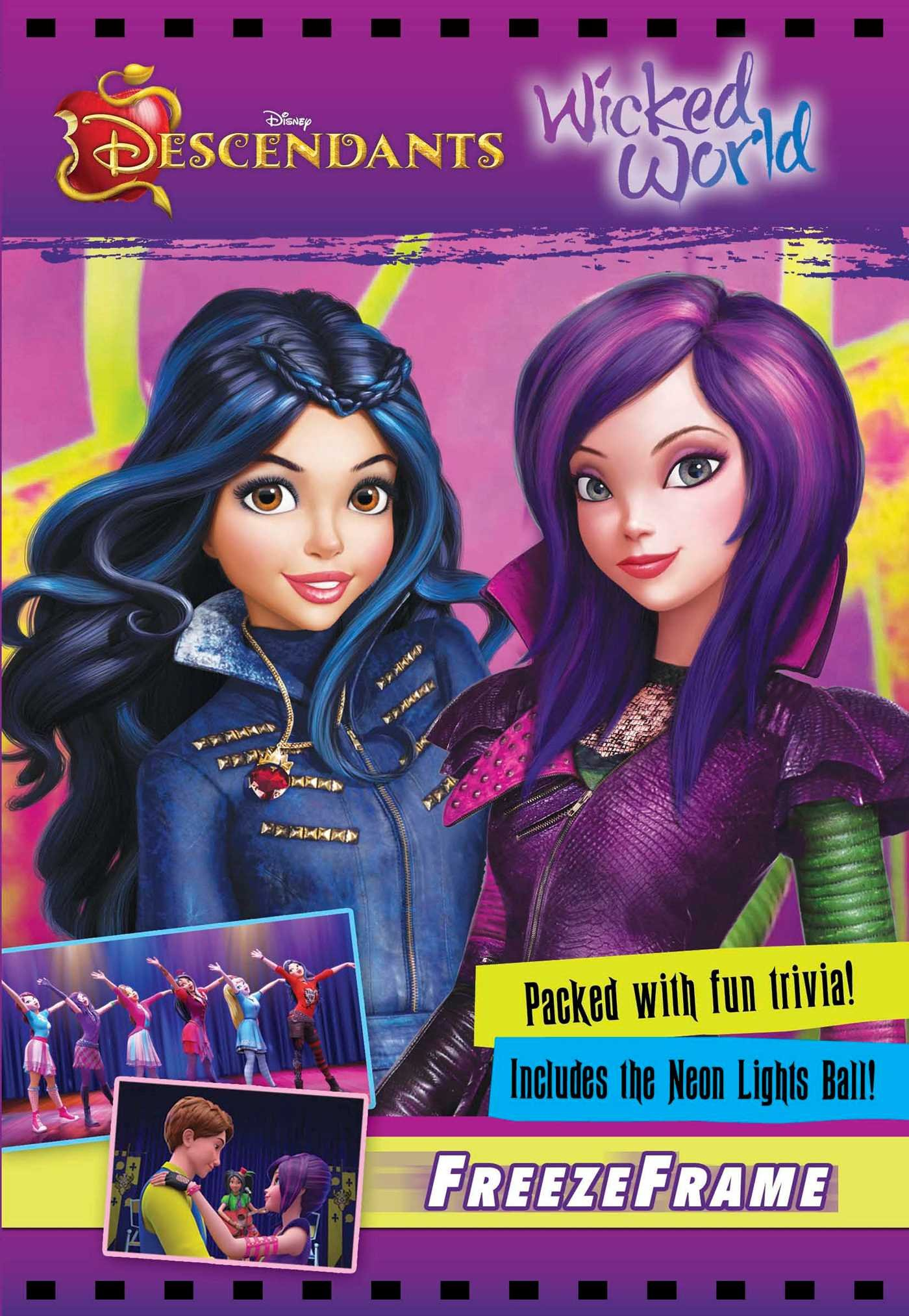 Amazon Disney Descendants Wicked World 9780794440718 Books