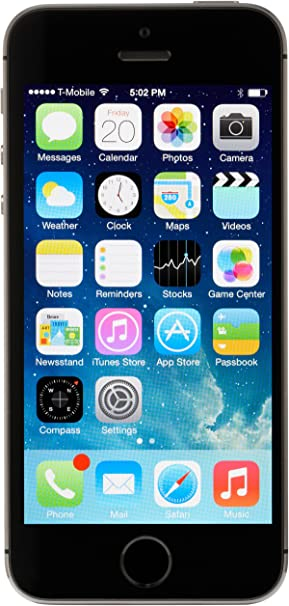 Apple iPhone 5S Smartphone Libre 16/32/64GB (16GB, Space Grey ...