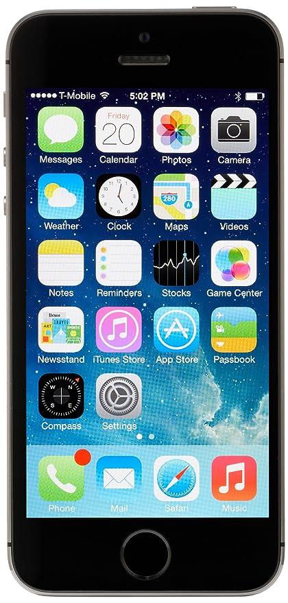 Amazon Com Apple Iphone 5s 64gb Space Gray Factory Unlocked Gsm