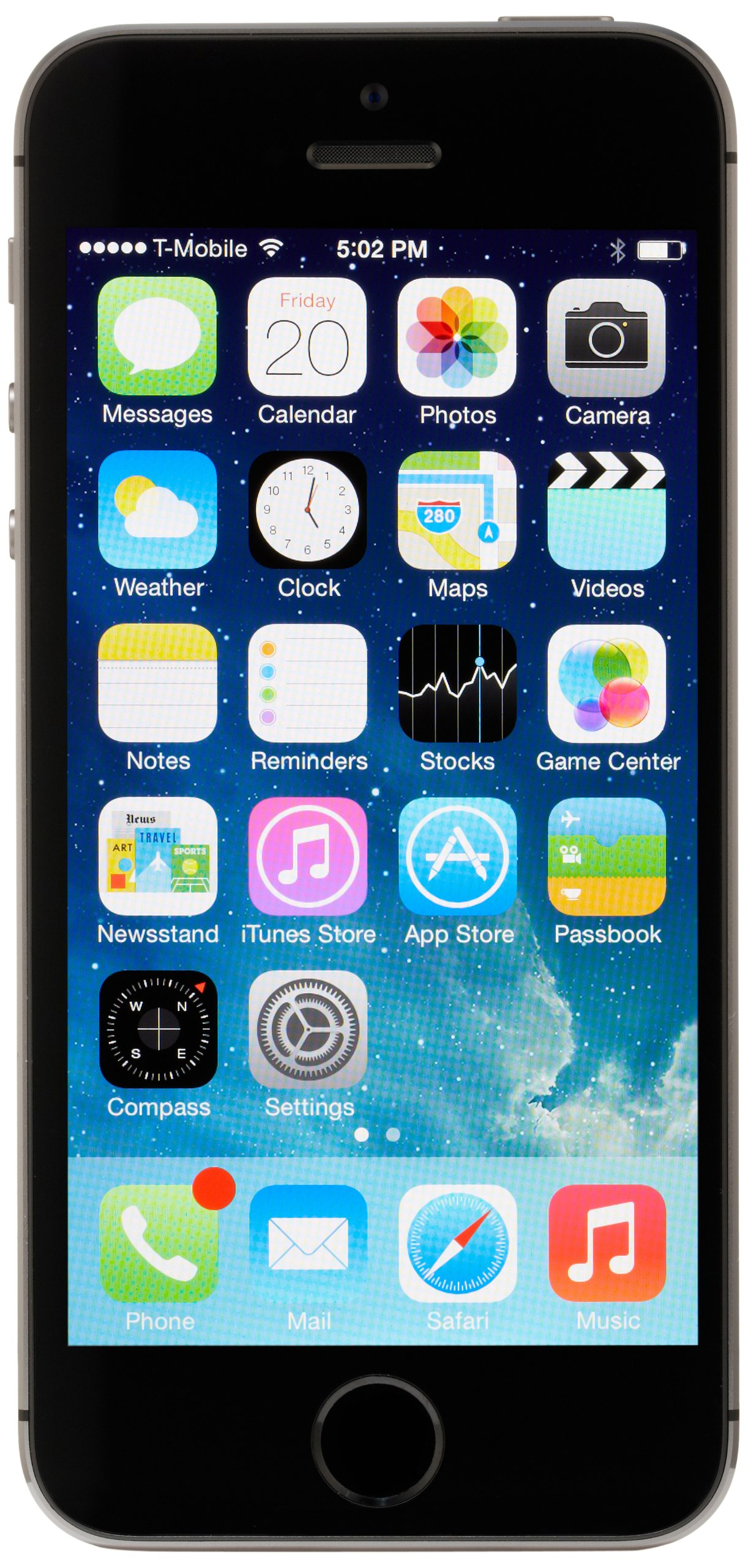 Apple iPhone 5S 16 GB AT&T, Space Gray