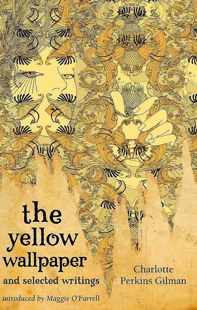 "Livre ""The Yellow Wallpaper"" par Charlotte Perkins Gilman."