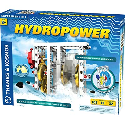 Thames & Kosmos Hydropower Science Kit | 12 Stem Experiments | Learn About Alternative & Renewable Energy, Environmental Science | Parents' Choice Recommended Award Winner: Toys & Games