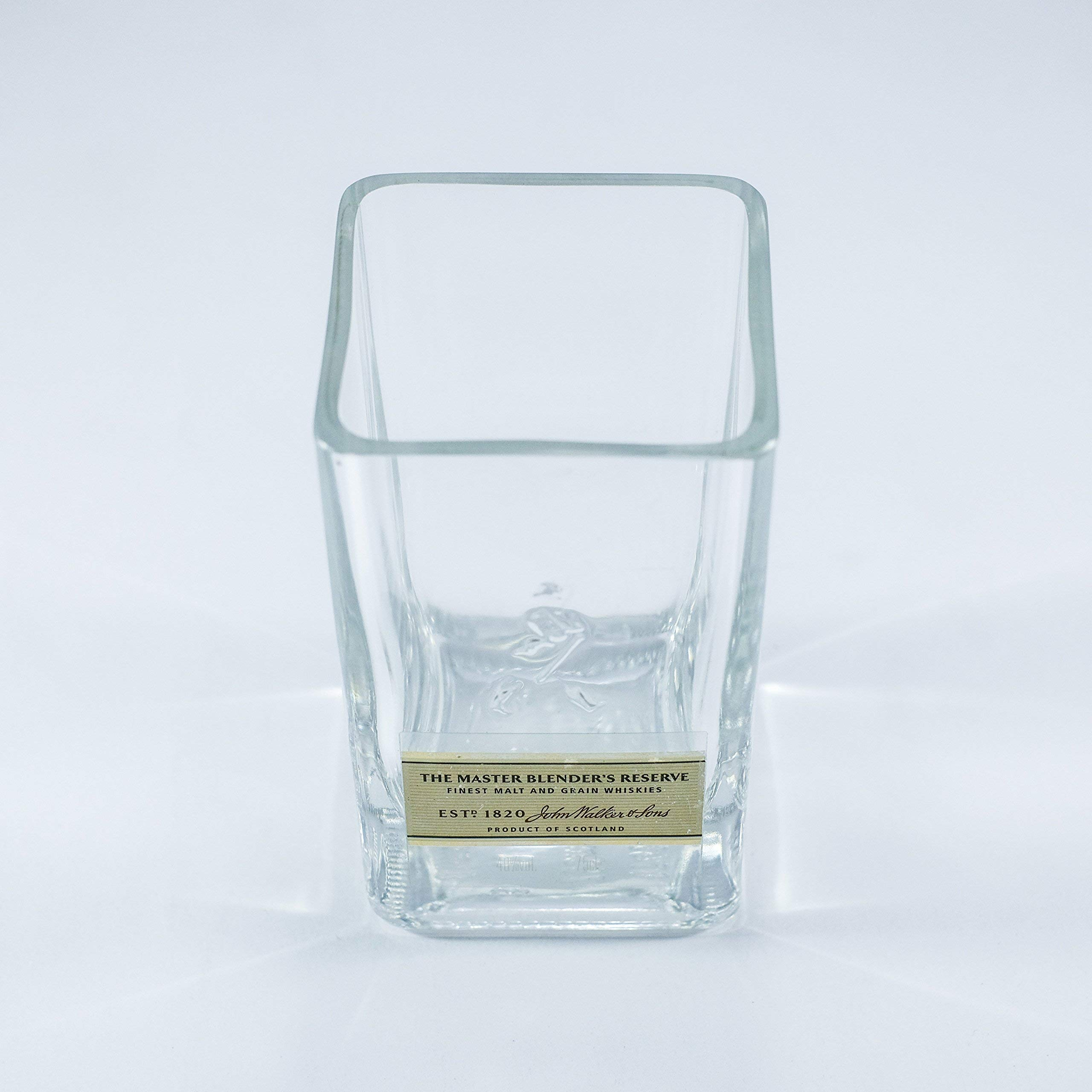 JOHNNIE WALKER GOLD LABEL LUXURY WHISKEY ROCKS CRYSTAL GLASS