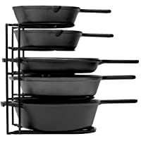 Cuisinel Heavy Duty Pan Organizer, 5 Tier Rack Deals