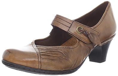 Cobb Hill Womens Heels & Pumps Almond Leather 8  US / 6 UK