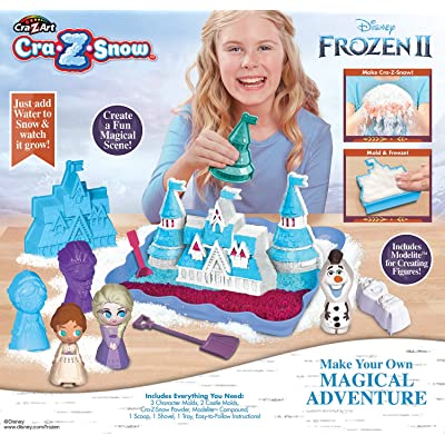 Disney Frozen II Cra-Z-Snow Make Your Own Magical Adventure: Toys & Games