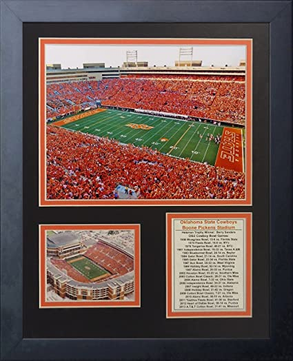 Legends Never Die Pittsburgh Pirates Three Rivers Stadium Panoramic Framed Photo Collage 11 x 14-Inch