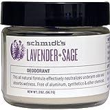 Schmidt's Deodorant, Lavender + Sage, 2 oz (56.7 g) - 2pc
