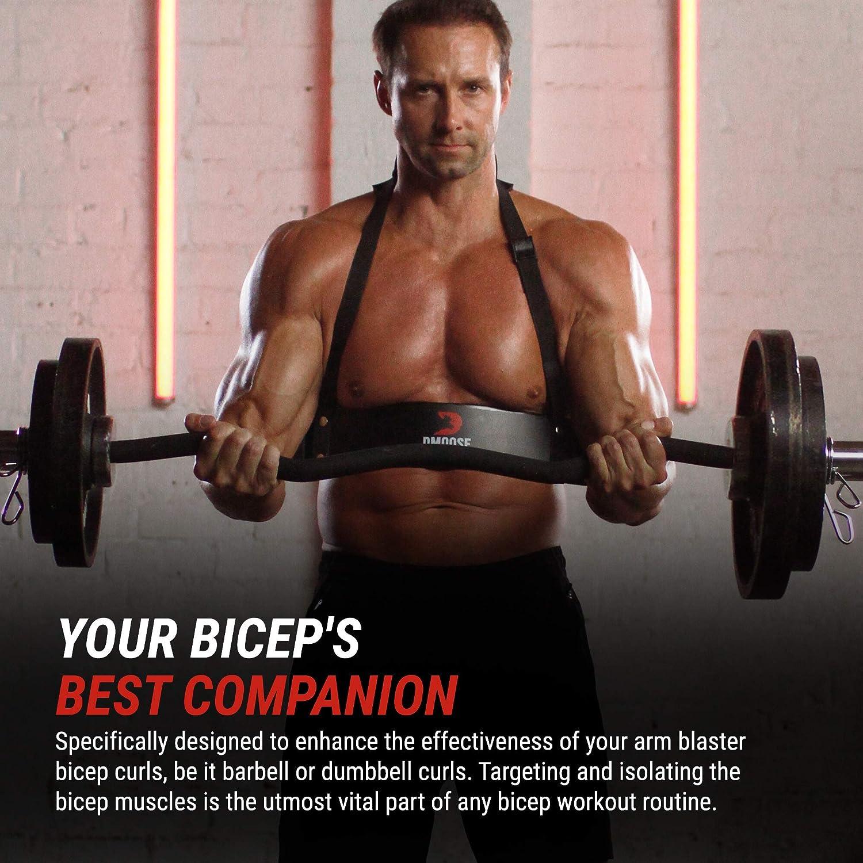 Fitness Arm Curl Blaster zum Gewichtheben Bizeps Blaster und Bizeps Curl Unterst/ützung f/ür Bodybuilding Fire Team St/ärker Langhantel Hantel Workouts