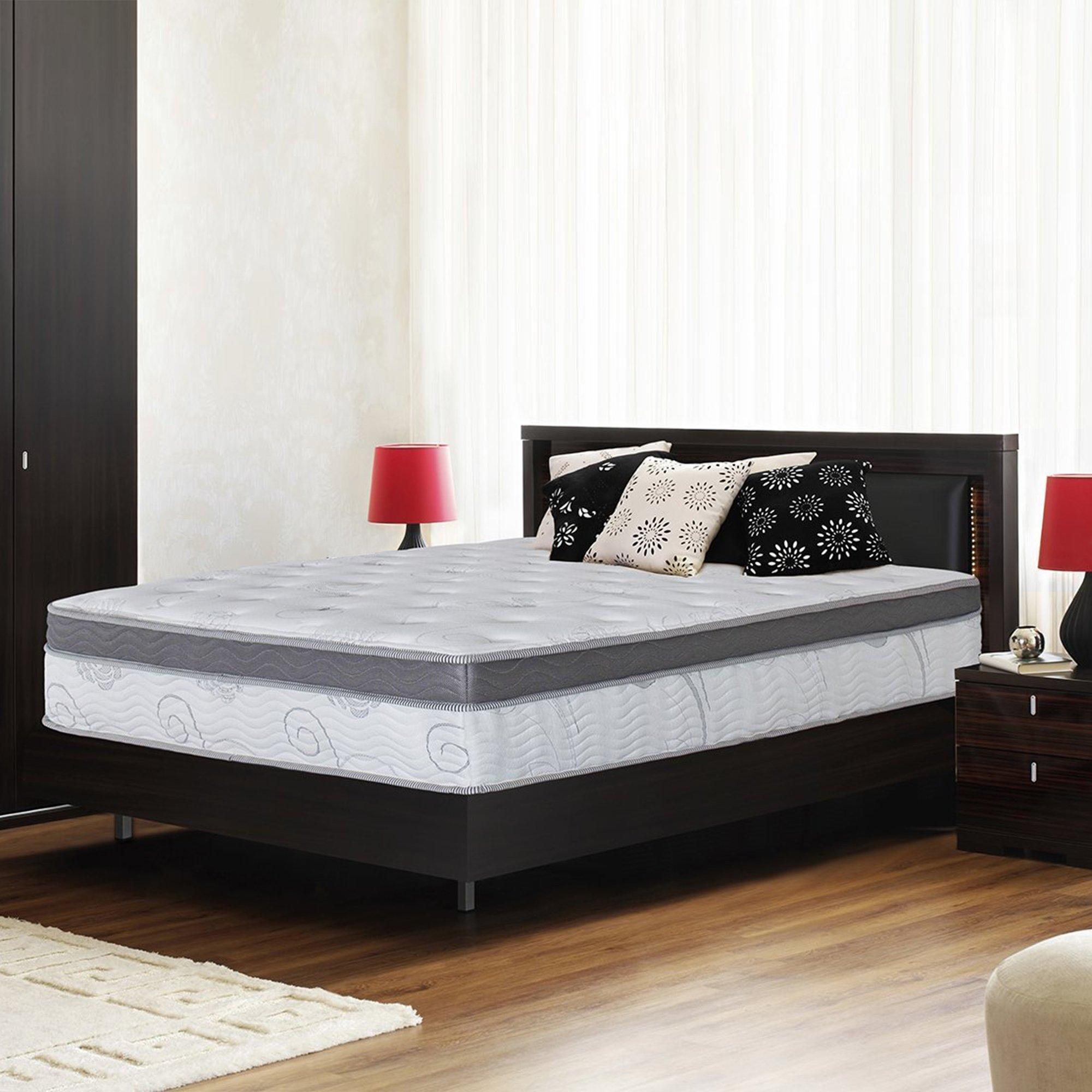 Olee Sleep 13 inch Galaxy Hybrid Gel Infused Memory Foam and Pocket Spring Mattress (King) by Olee Sleep