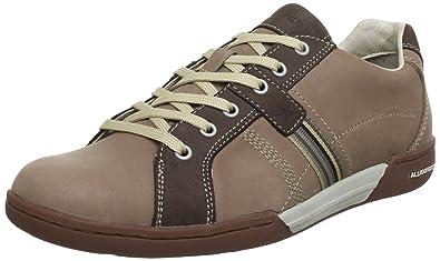 Allrounder by Mephisto DORADO CITO 37 TAUPE P2002873 - Zapatillas de cuero para hombre, color marrón, talla 46