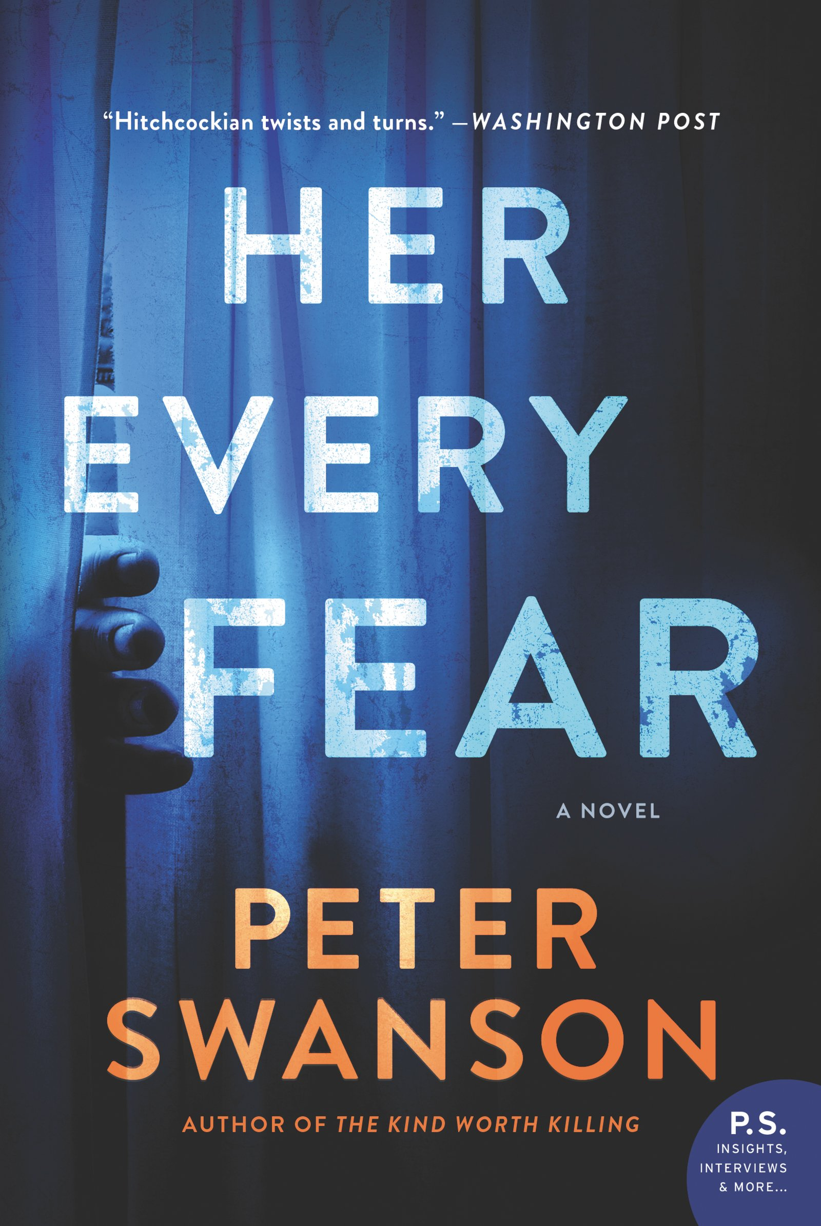 Read Online Her Every Fear: A Novel PDF