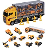 Toy Truck Toys for Boys and Girls Toy Cars 11 in 1 Engineering Construction Car