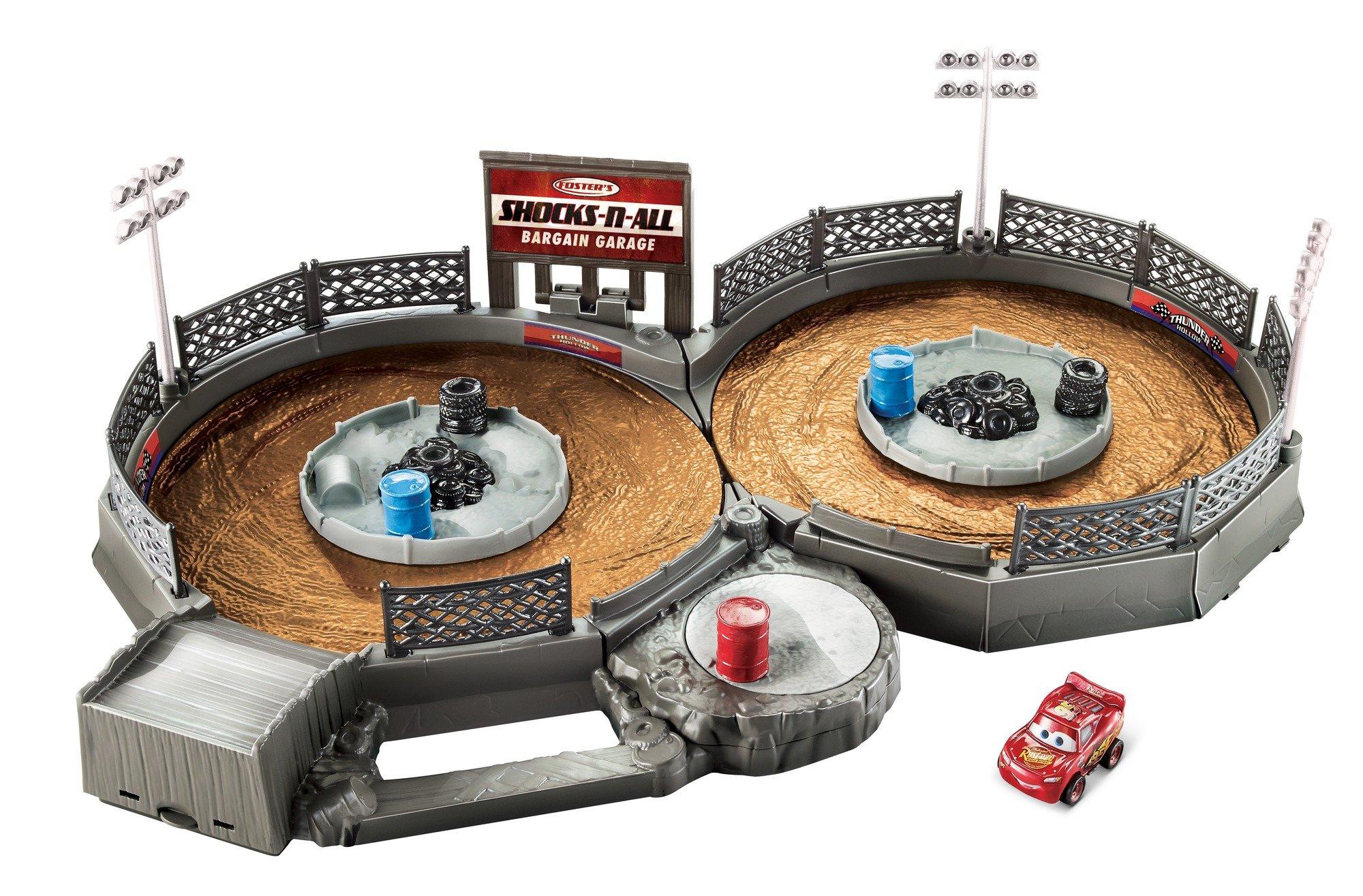 Disney/Pixar Cars Mini Racers Crank & Crash Derby Playset