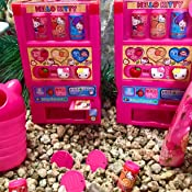 Juice and Other Accessories Hello Kitty Toy Vending Machine with Coins