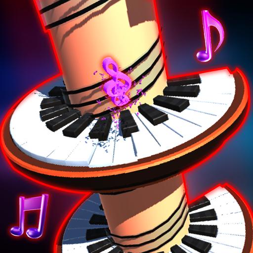 Helix Piano Tiles - Music Ball - Ball Tile