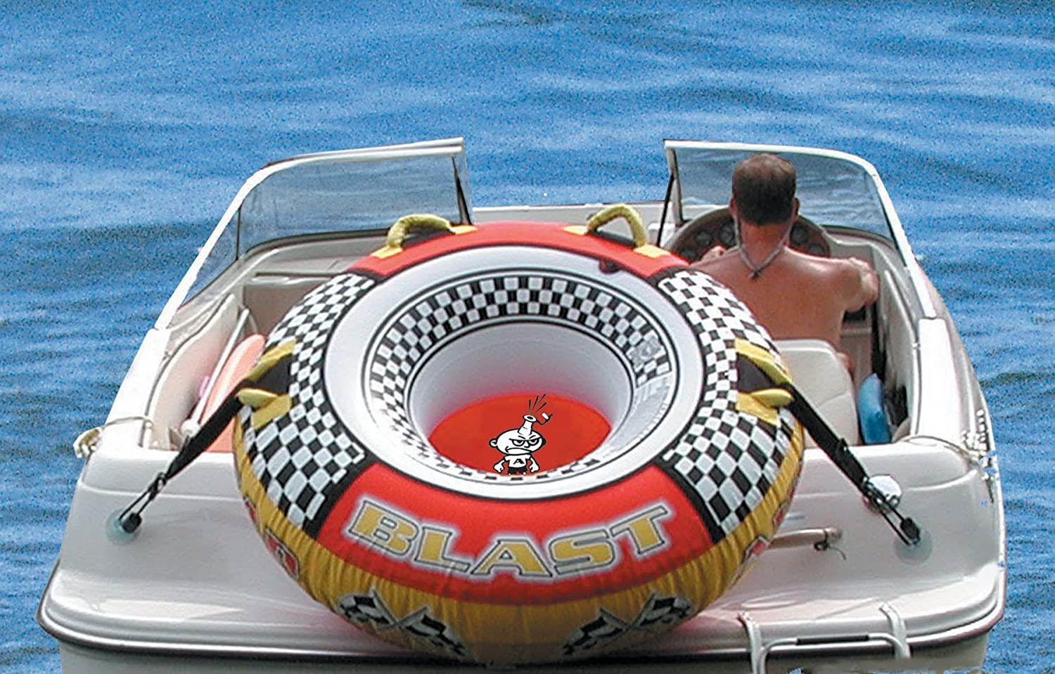 Airhead Tube Keeper Waterskiing Towables Sports Boat Tow Harness Outdoors