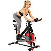 Deals on Sunny Health & Fitness SF-B1002 Belt Drive Indoor Cycling Bike