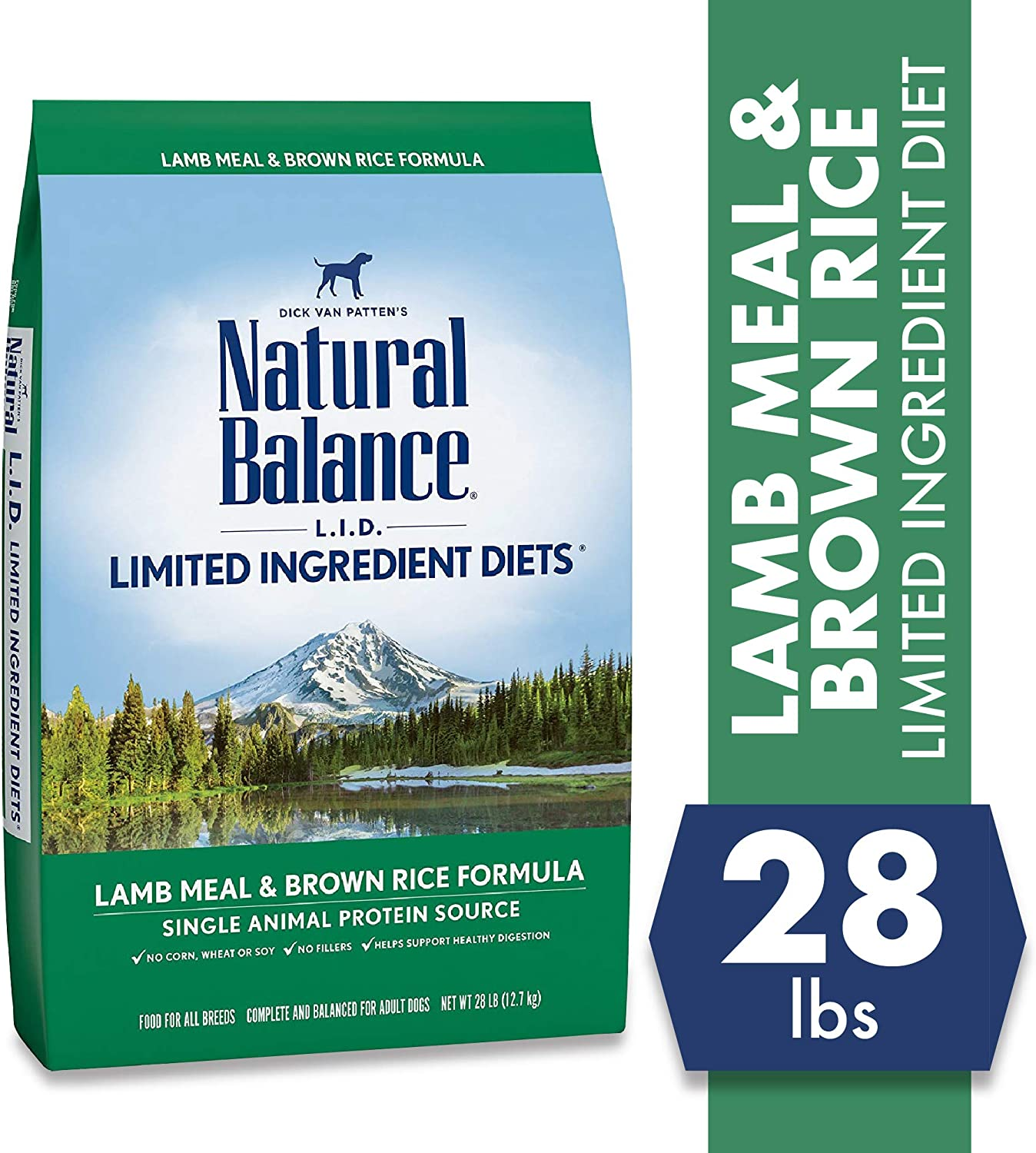 3. Natural Balance L.I.D Limited Ingredient Diets Dry Dog Food