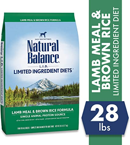 Natural Balance Dog Food Coupons >> Natural Balance Lid Limited Ingredient Diets Dry Dog Food With Grains