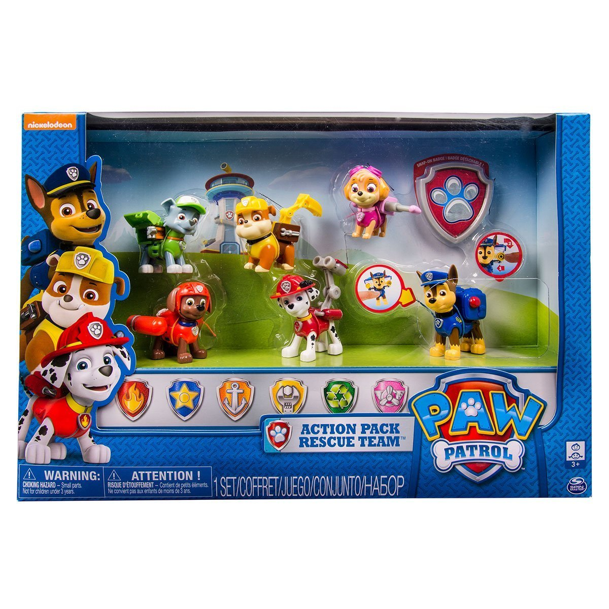 Paw Patrol Action Pack Rescue Team Everest Edition