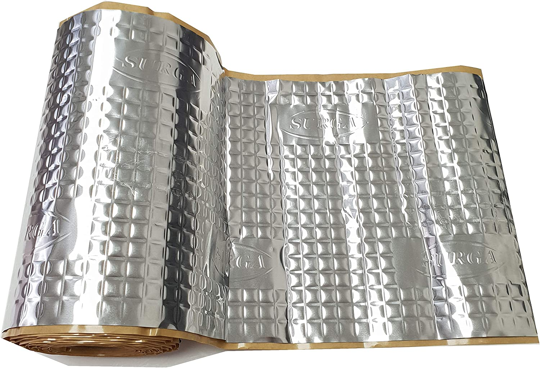 4m Alubutyl D/ämmmatte selbstklebend Anti Dr/öhn Matte kein Bitum 25 x400 cm Surga Performance