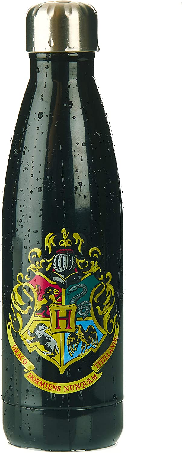 Hogwarts Water Bottle, Harry Potter Metal Sports Bottle