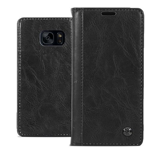 5 opinioni per Cover Galaxy S7, Ordica Italia®, Custodia Samsung Galaxy S7 Portafoglio Logo-
