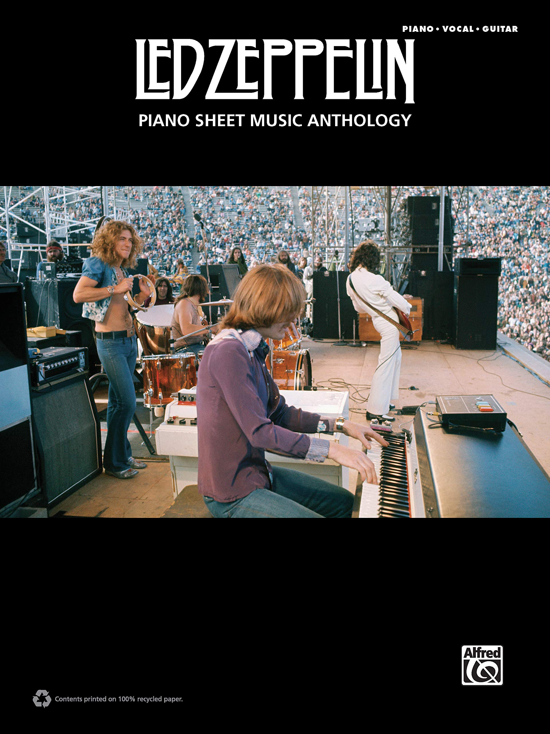 Led Zeppelin: Piano Sheet Music Anthology: Piano /Vocal / Guitar ...