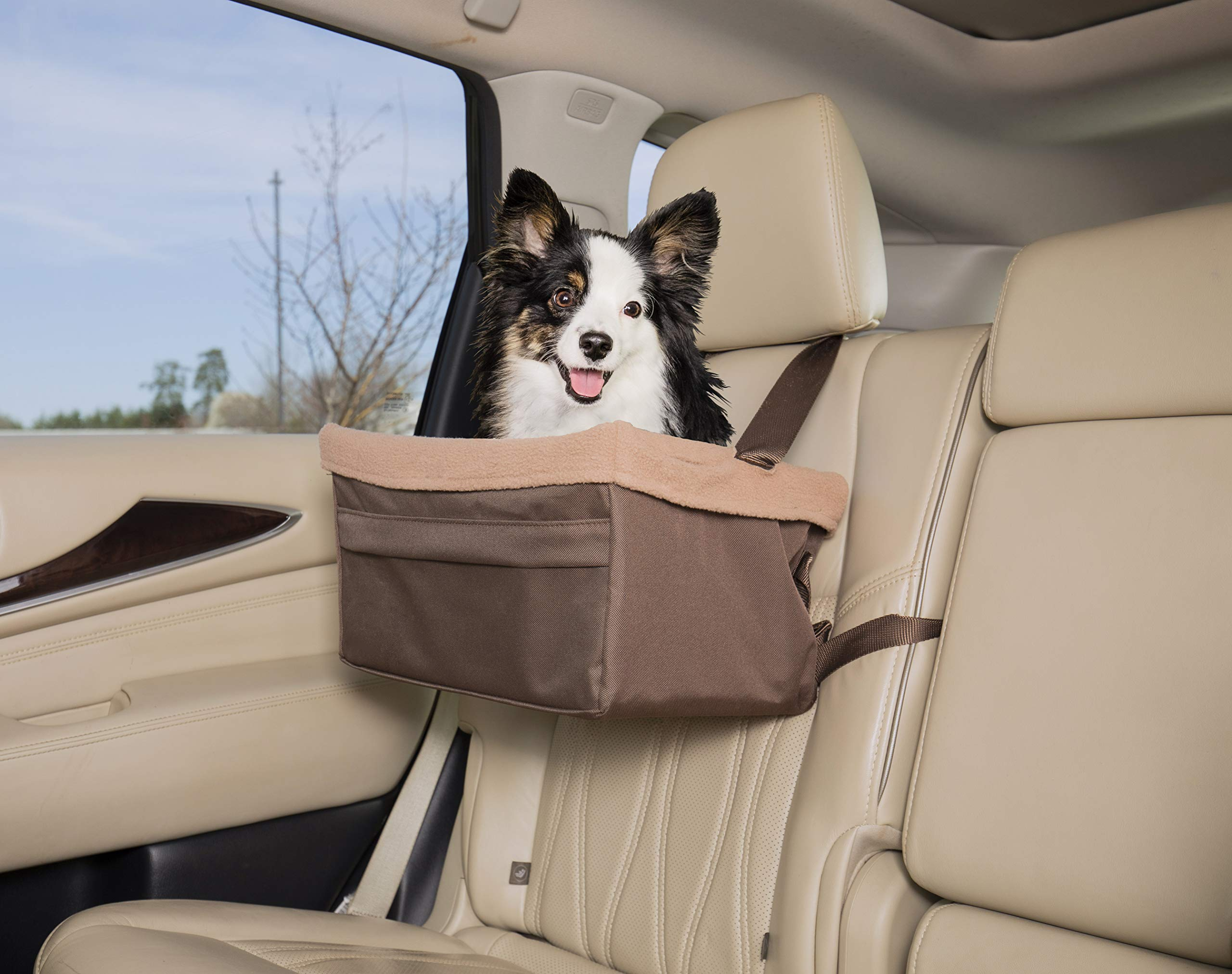 PetSafe Solvit Tagalong Pet Booster Seat, Large Standard, Dog Booster Seat for Cars, Trucks and SUVs by PetSafe