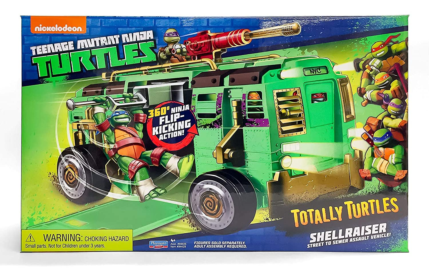Amazon.com: Teenage Mutant Ninja Turtles Shellraiser Group ...
