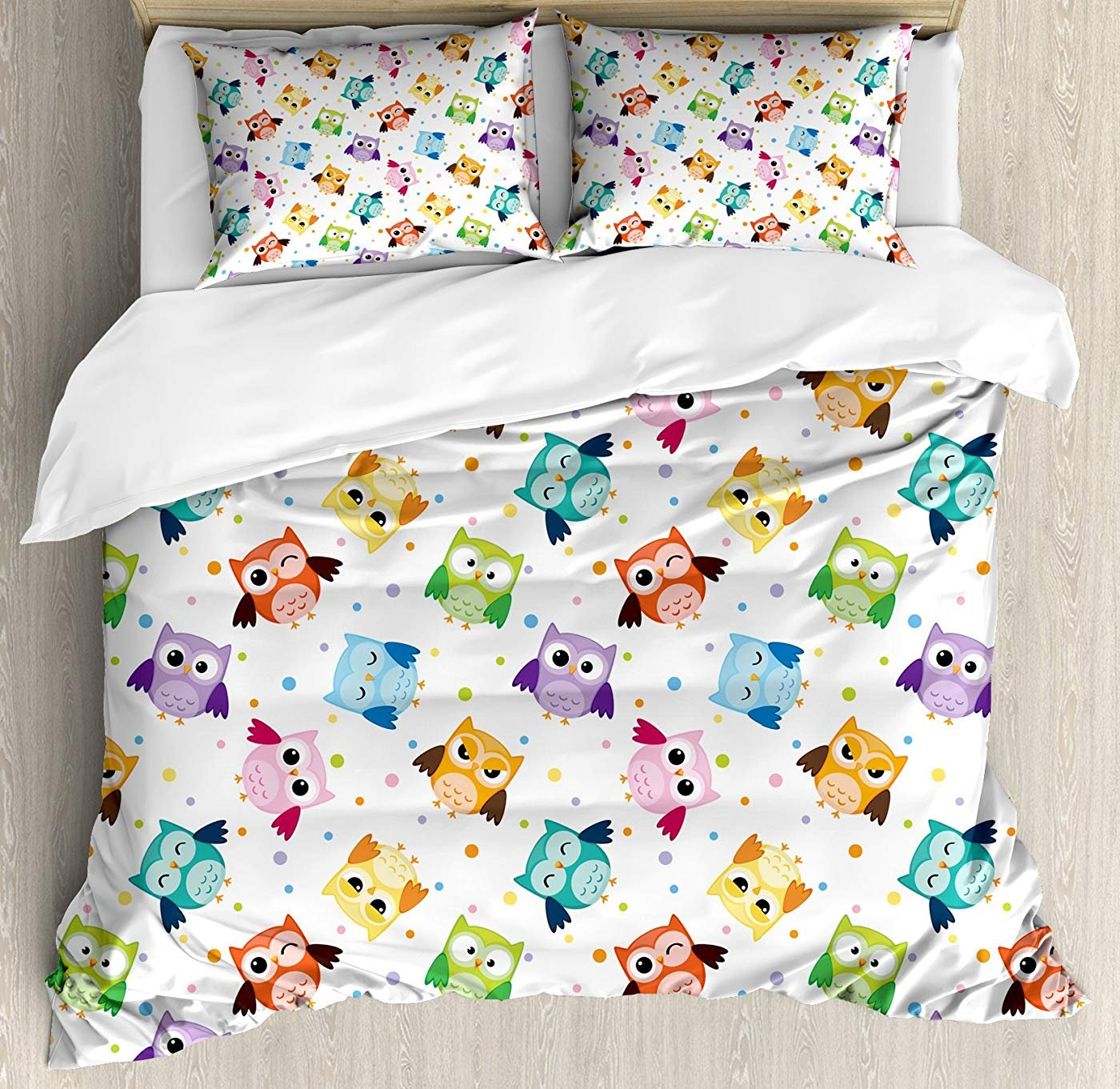 Multi 4 Twin Butterfly Duvet Cover Set Twin Size, Sketch Style Animals Leaves Abstract Nature Depiction Romantic Swirls Lines,Lightweight Microfiber Duvet Cover Sets, Grey Pink White