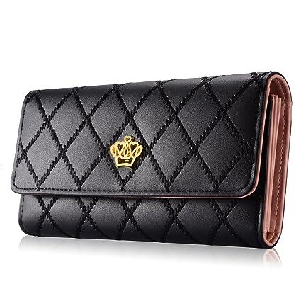 Amazon.com: Billetera de mujer - Elegante billetera con ...