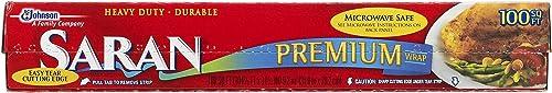 Saran Premium Plastic Wrap