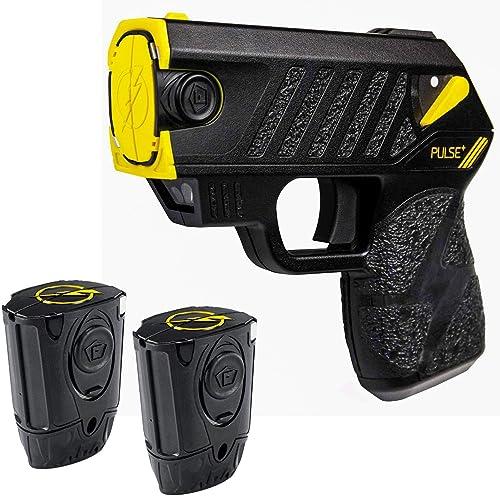 Taser Pulse Compact Laser LED 2 Live-Cartridges Soft Pocket and Target