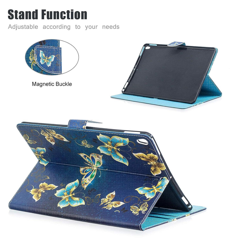 Panda Case for iPad Air 3 10.5 2019//iPad Pro 10.5 inch Uliking Slim Stand Smart Cover with Auto Wake//Sleep Smart Protective Cover Kids for iPad Air 10.5 2019//iPad Pro 10.5-inch 2017 Model