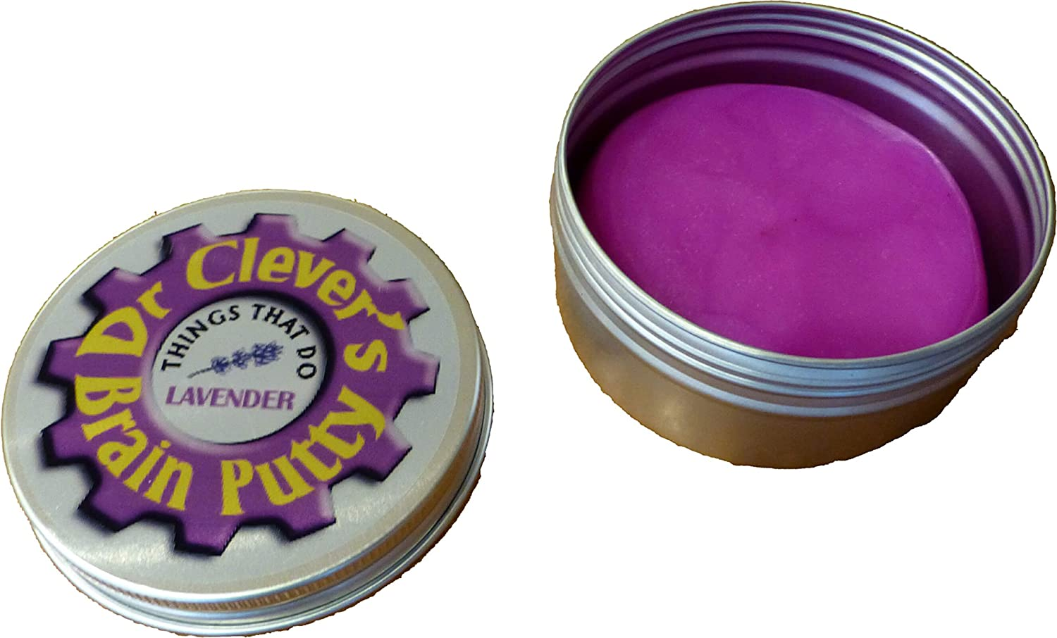 Brain Putty LAVENDER by Dr Clever Concentration Thinking Relaxation Lots