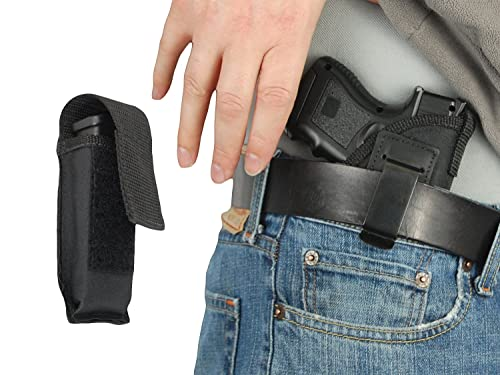 Barsony New IWB Holster + Single Magazine Pouch for Compact