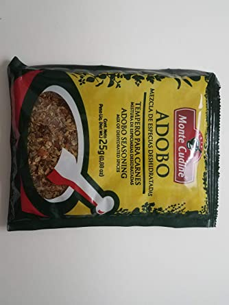 Amazon Com Monte Cudine Adobo 50g Packet Grocery Gourmet Food