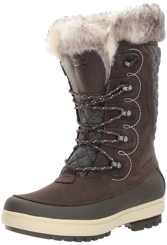 Helly Hansen Women's W Garibaldi Vl-W Cold Weather Boot B01NA07BBY 6 B(M) US|Coffee Bean/Espresso/Natural