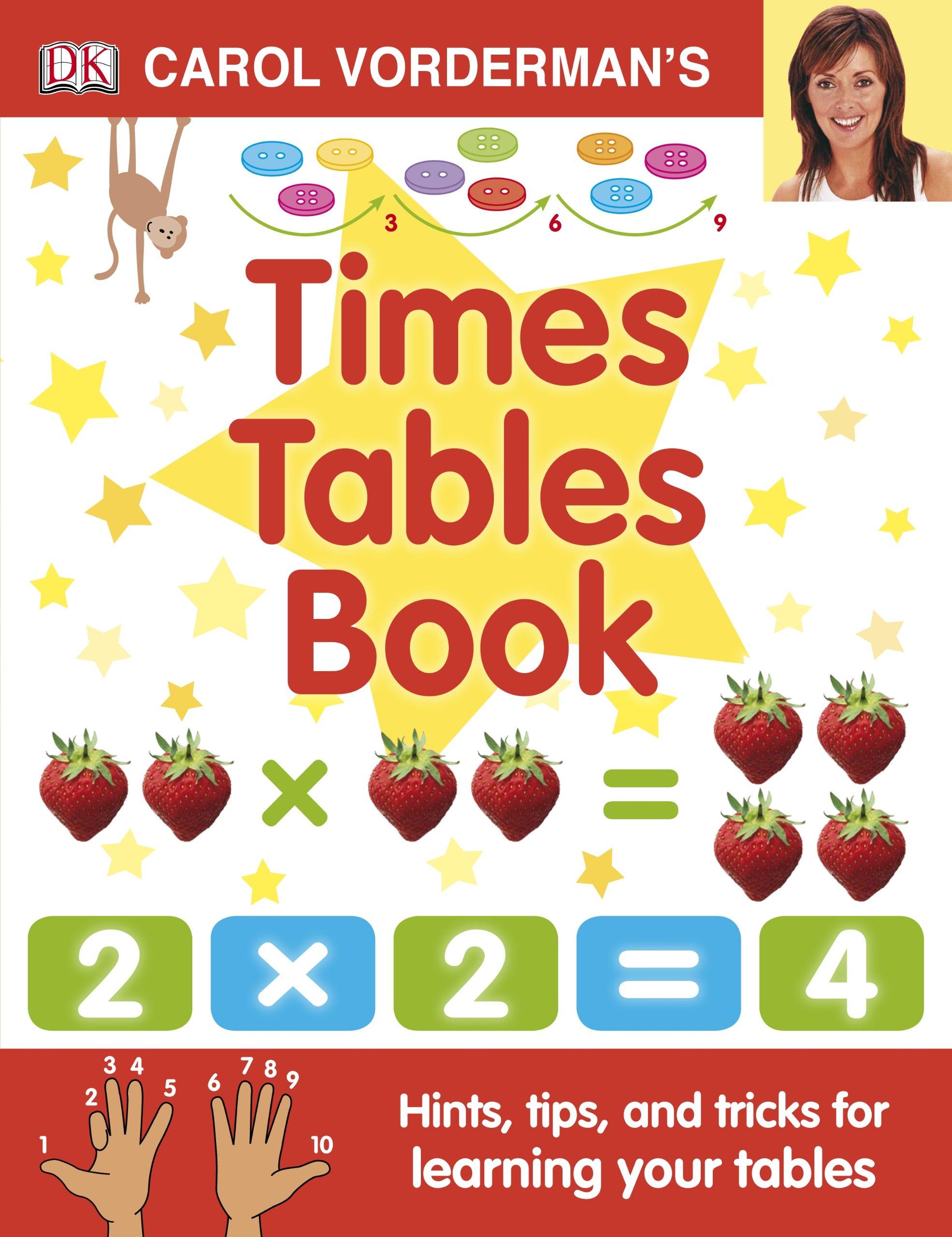 Carol vordermans times tables book made easy amazon carol vordermans times tables book made easy amazon carol vorderman 9781405341363 books gamestrikefo Images